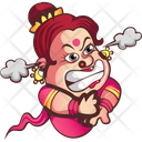 Angry Aunty Icon