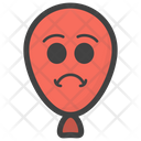 Angry Balloon Emoji Icon
