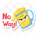 Angry Beer Icon
