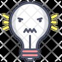 Angry Bulb Angry Bulb Icon