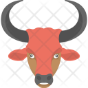 Red Bull Face Icon