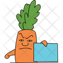 Angry Carrot Icon