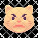 Angry Cat Emoji Icon
