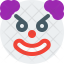 Angry Clown Icon
