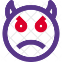 Angry Devil Icon