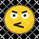 Angry Emoji Unhappy Sad Icon