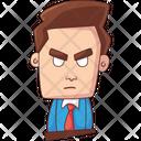 Office Boy Employee Boy Icon