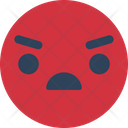 Angry Face Icon