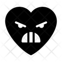 Grimacing Emoji Face Icon