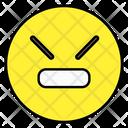 Angry Emoji Emoticon Smiley Icon