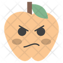 Angry Face Apple Icon