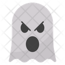 Angry Ghost Face Icon