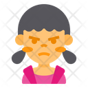 Angry Girl Cute Girl Cute Icon