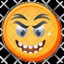 Angry Laugh Emoji Icon