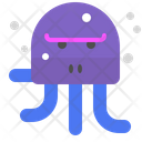 Angry octopus Icon