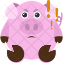 Angry Piggy Icon