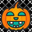 Halloween Scary Pumpkin Icon