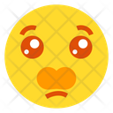 Anguished Face Icon
