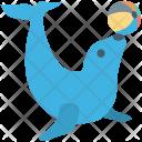 Animal Circus Seal Icon