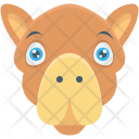 Animal Face Forest Icon