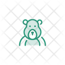 Animal Bear Jungle Icon