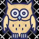 Animal Bird Halloween Owl Icon