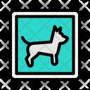 Animal Dog Board Icon