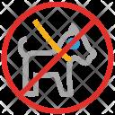 Animal Dog Forbidden Icon