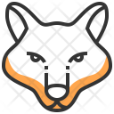 Animal Face Fox Icon