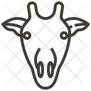 Animal Face Giraffe Icon