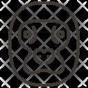 Animal Face Head Icon
