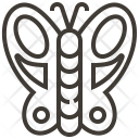 Animal Biology Butterfly Icon
