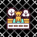 Animal Abandonment Stray Icon