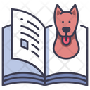 Dog Book Pet Icon