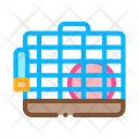 Cage Hamster Pet Icon