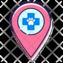 Vet Clinic Location Icon