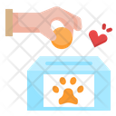 Animal Donation Icon