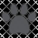 Animal Footprint Pet Icon