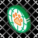 Acid Animal Atomic Icon