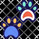 Animal Footprint Feet Foot Icon