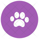 Animal footstep Icon