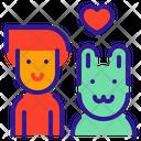 Animal Lover Pet Dog Icon
