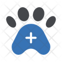 Animal Paw Medical Icon