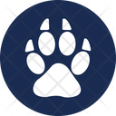 Animal Paw Cat Paw Dog Foot Icon