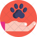 Animal Rescue Save Animals Hand And Gestures Icon