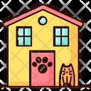 Animal Shelter Exterior Icon