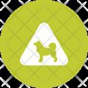 Animal Sign Traffic Icon