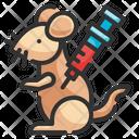 Animal Testing Rat Vaccine Icon
