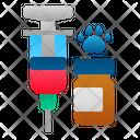 Animal vaccine Icon