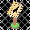 Animal Sign Animal Board Animal Warning Icon